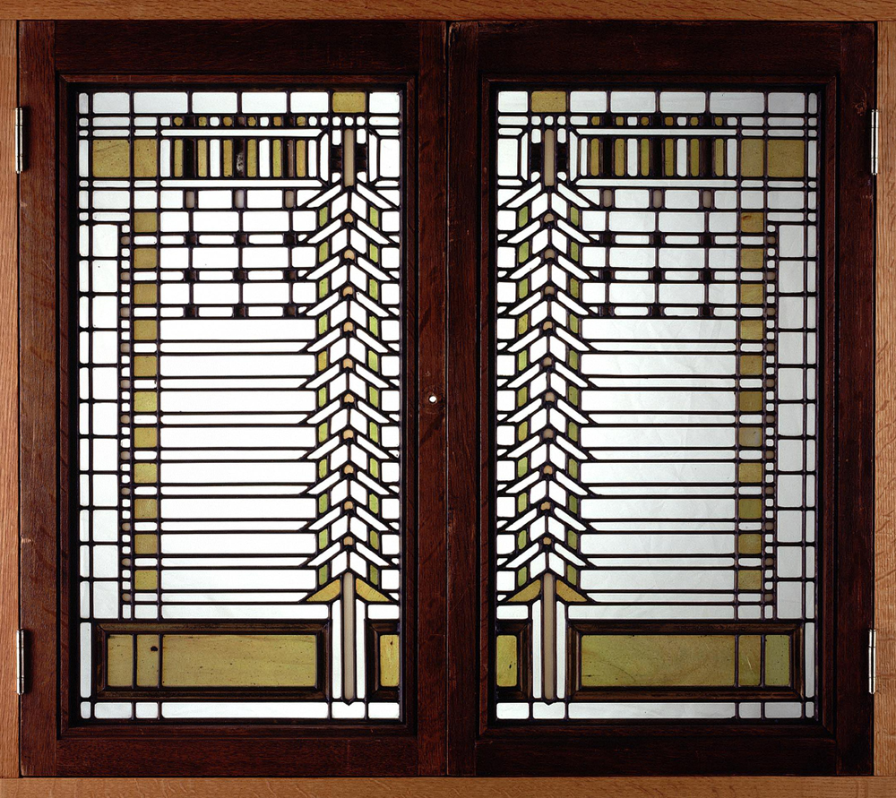 Stained Glass Windows From Martin House Herbert F Johnson