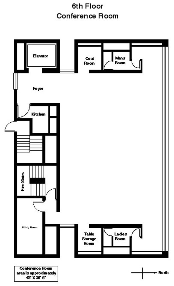 Lynch Conference Room plan