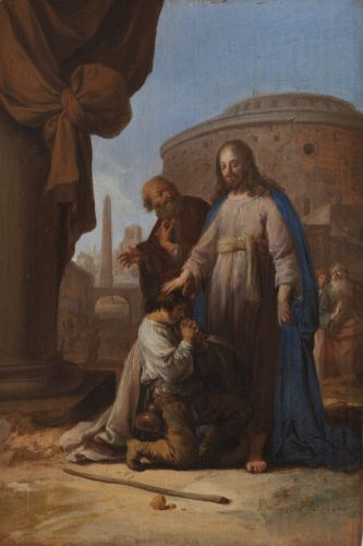 Bartholomeus Breenbergh Christ and the Rich Youth 1640