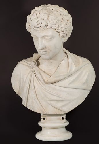 Bartolomeo Cavaceppi Bust of the young Marcus Aurelius after the ancient original marble
