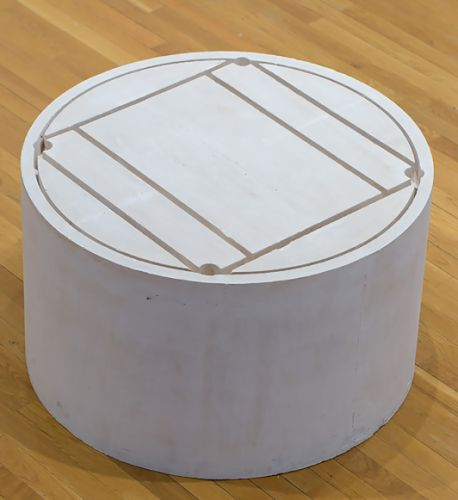 Rachel Whiteread Untitled Round Table 1997-98
