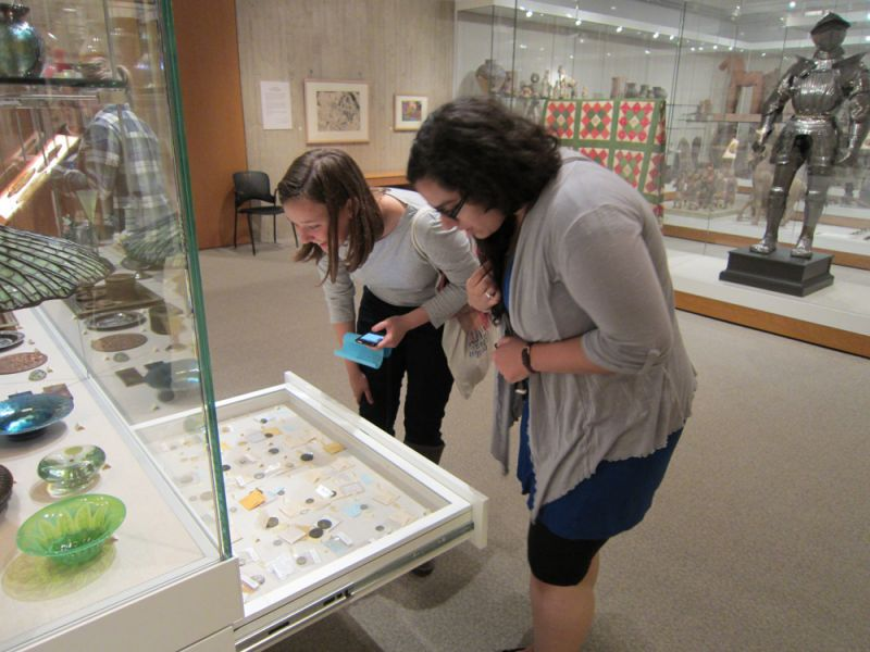 Visible Storage Gallery Johnson Museum Cornell