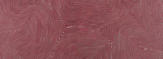 Warlimpirrnga Tjapaltjarri Marawa Licensed by Aboriginal Artists Agency Ltd courtesy Papunya Tula Artists