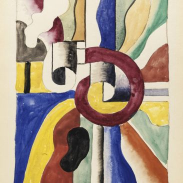 Fernand Léger Untitled 1940 pencil gouache