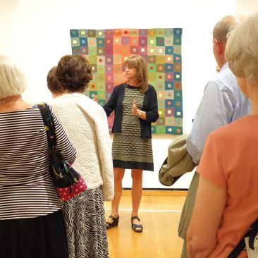 Cathy Klimaszewski art quilts Johnson Museum Cornell