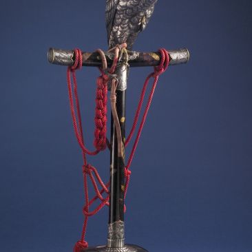 Tatsuhiro Falcon incense burner George Walter Vincent Smith Art Museum