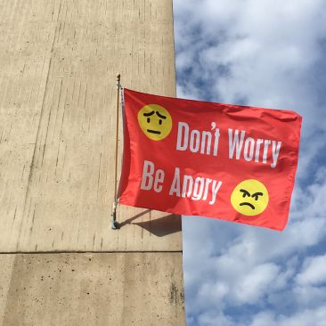 Jeremy Deller Don't Worry Be Angry Johnson Museum