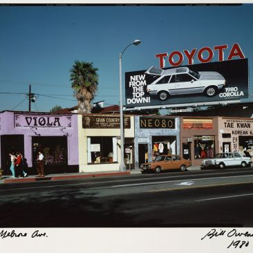 Bill Owens Melrose Ave Los Angeles Documentary Project